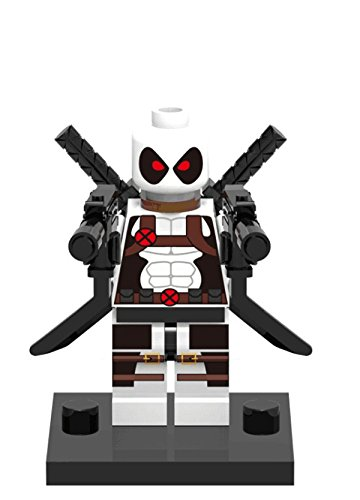 Deadpool Minifigures (White Deadpool)