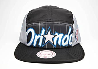 Orlando Magic Mitchell & Ness 5 Panel HWC Camper Clipback Hat by Mitchell & Ness