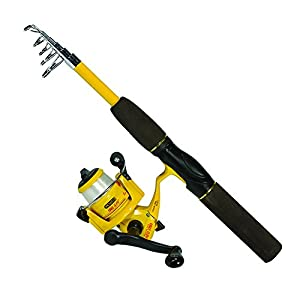 Eagle Claw Pack-It Spin Combo Telescopic Rod