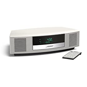 bose radio wave ii platinum white. Black Bedroom Furniture Sets. Home Design Ideas