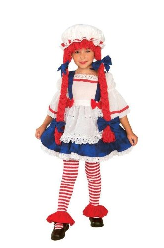 Yarn Babies Rag Doll Girl Toddler - Child Costume