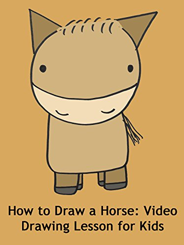 How to Draw a Horse: Video Drawing Lesson for Kids