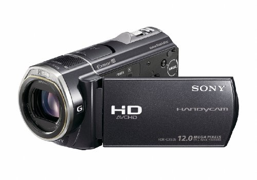 Sony HDRCX505VE Handycam Camcorder With a Built-in 32GB Memory