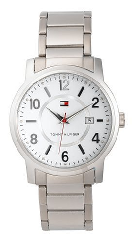 Tommy Hilfiger Men's White Dial Watch #1710046 - Buy Tommy Hilfiger Men's White Dial Watch #1710046 - Purchase Tommy Hilfiger Men's White Dial Watch #1710046 (Tommy Hilfiger, Jewelry, Categories, Watches, Men's Watches, Casual Watches, Metal Banded)