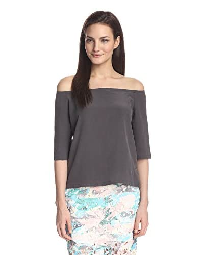 ADDISON Women's  Dudley Off-the-Shoulder Silk Top