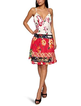 Desigual Chopsticks Sleeveless Women's Dress Carmin  18