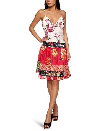 Desigual Chopsticks Sleeveless Women's Dress Carmin  18
