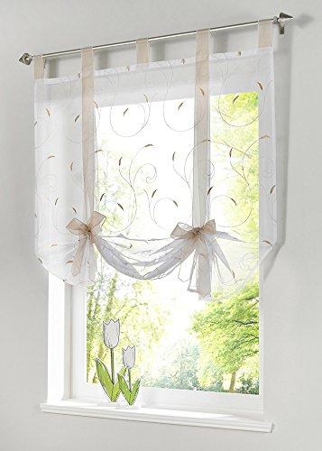Kitchen Curtains bistro style kitchen curtains : Unique Retro Kitchen Curtains - Sarkem.net