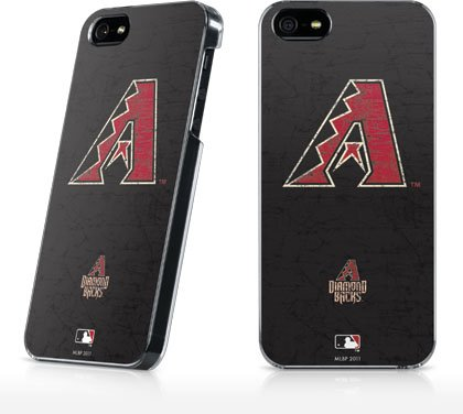 Mlb - Arizona Diamondbacks - Arizona Diamondbacks- Primary Solid Distressed - Iphone 5 & 5S - Lenu Case