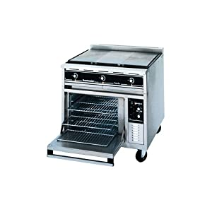 Countertop Stove Amazon : Amazon.com: Toastmaster TRE36C3M Electric Range / Convection Oven With ...