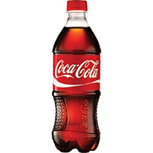 Coca Cola Classic, 20-Ounce Containers (Pack of 24)