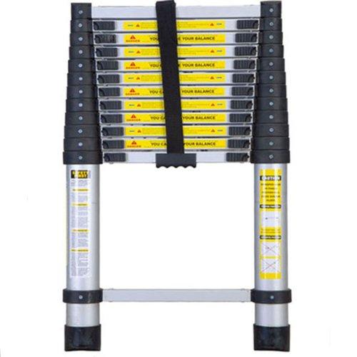12 Foot Telescoping Ladder : Attic ladder installation on sale save foot