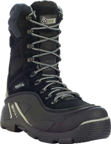 Rocky FQ0004452 Women's BlizzardStalker Pro Black/Gray Boot 8 M US