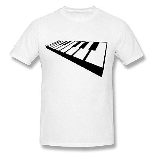 Custom Keyboard Men O Neck T-Shirt