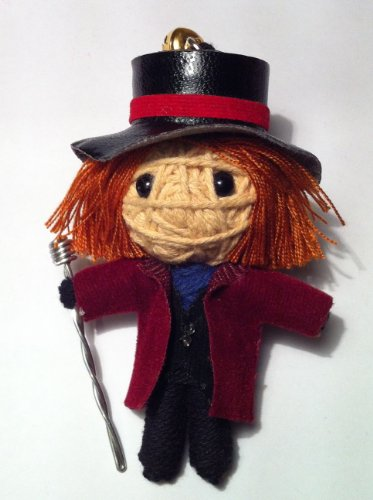 Willy Wonka String Doll Keychain - 1