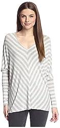 SEN Women's Dolman Sleeve Top, Anthracite/Ash, One Size