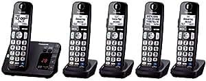 Panasonic KX-TGE233B + 2 KX-TGEA20B Handset (5