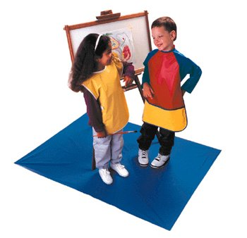 Kinder Smocks Long Sleeves Ages 6-8 With Pocket -- Case of 4