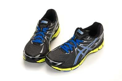 Asics Gt-2000 (4e Width) Mens Running Shoes, Black-brilliant Blue-lime (26.5 CM = Euro 42 = US 8.5)