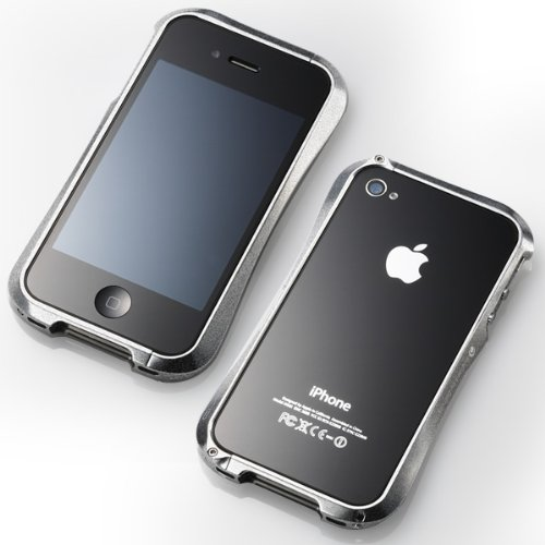 Deff 【iPhone4/4S対応バンパー】 CLEAVE ALUMINUM BUMPER アストロシルバー DCB-IP40A6SV