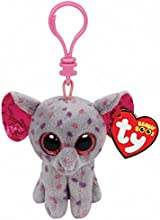 Ty Beanie Boo Boos 3quot Key Clip - Specks the Elephant