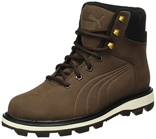 Puma Unisex-Erwachsene Desierto Fun Schneestiefel, Braun (Chocolate Brown-Chocolate Brown 02), 44 EU