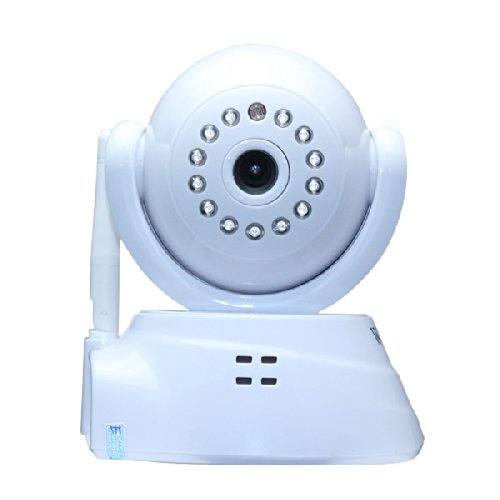 Wanscam Wireless 2-Way Audio Ip Camera Ir Infrared Network Baby Monitor Security Surveillance White front-462652