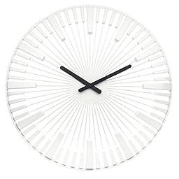 Koziol Piano Plastic Wall Clock 18\