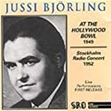 Jussi Bjoerling At the Hollywood Bowl