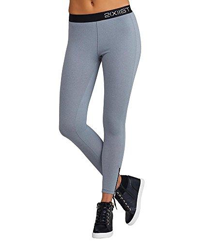 2(x)ist Solid Performance Leggings, XL, Light Heather Grey