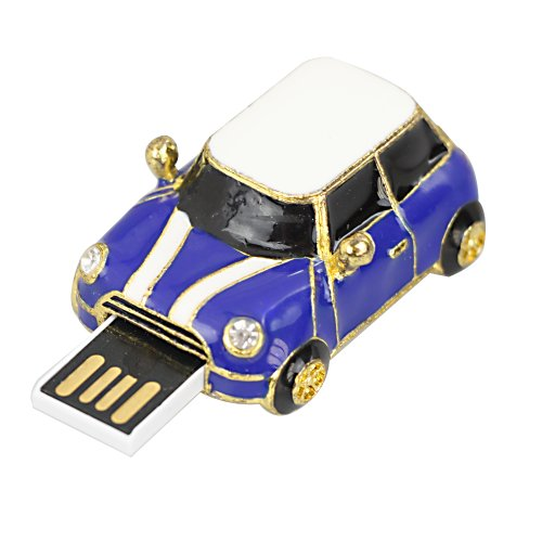 FLY-Shop 8 GB Mini Cooper Auto USB-Flash-Stick- Blau
