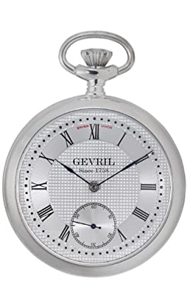 "Gevril Men's G780.025.56 ""1758 Collection"" Mechanical Hand Wind Swiss Pocket Watch from Gevril"