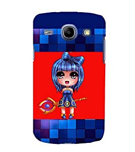 printtech Anime Girl Scepter Back Case Cover for Samsung Galaxy On7