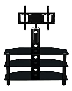 Cheap  LED/LCD/Plasma 3 Tiered  Glass TV Stand