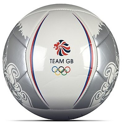 Official Adidas Olympic London 2012 Football_White