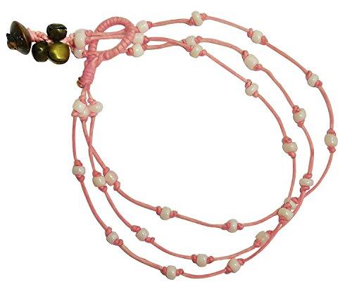 bdj-mano-triple-filas-sweet-pink-cristal-bead-tobillera-pulsera-10-pulgadas-aksp02