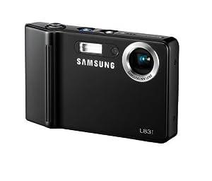 Samsung L83T Appareil photo compact numérique 8,2 Mpix zoom optique 3x Ecran LCD 2,5 pouces stabilisé Noir