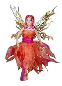 Flitter Fairies Mara (Fire Fairy) by William Mark