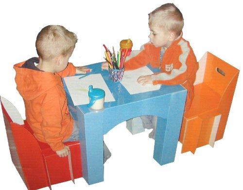 Children'S Table And Chair Set front-446896