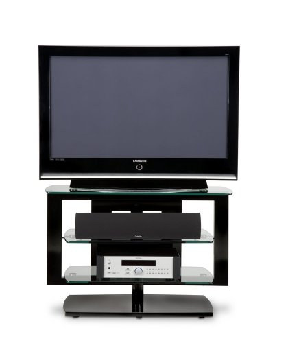 Cheap BDI Icon 9423, Swiveling Single-Wide Open TV Stand, Gloss Black (Icon / 9423)