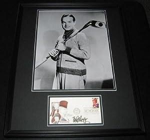 Bob Hope GOLF Signed Framed 16x20 Poster Photo Display JSA B - Autographed Golf... by Sports Memorabilia