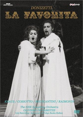 la Favorita - Donizetti - DVD edición japonesa