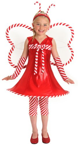 Candy Cane Christmas Fairy Costume