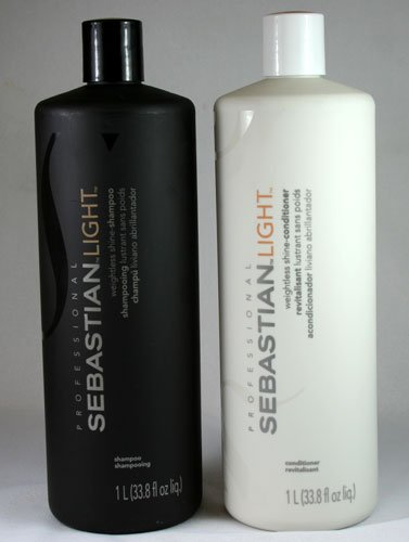 Sebastian Light 33.8 oz. Shampoo + 33.8 oz. Conditioner (Combo Deal)