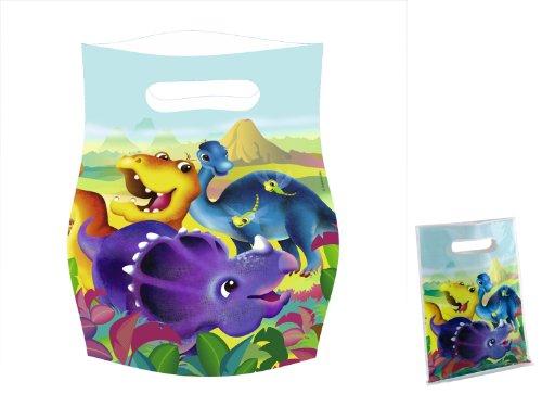 Imagen 1 de Bolsas de fiesta con dinosaurios