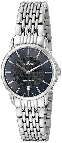 EDOX - 57001 3M GIN - Montre Femme - Quartz - Analogique - Bracelet Acier Inoxydable Argent