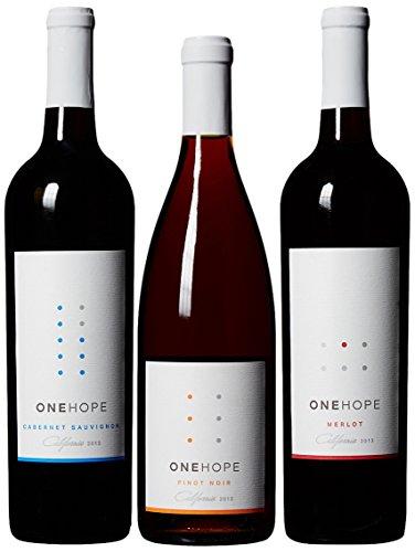 ONEHOPE California Reds III Wine Mixed Pack, 3 x 750 mL