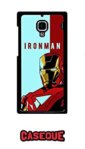 Caseque Starboost Iron Man Back Shell Case Cover For Xiaomi Redmi 1s