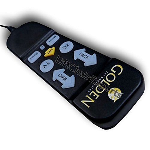 LiftChairExperts Golden Auto Drive Hand Control for Select Lift Chairs ZKAD-1 (Lift Chair Remote compare prices)
