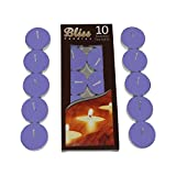 Bliss Lavender Fragranced Tea-Light Candles (Set of 2, Lavender)